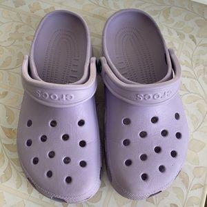 CROCS lilac purple sandals